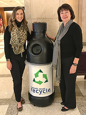 capitol recycling container